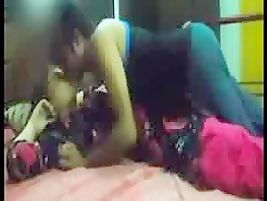 Auntie homemade fucked with her young BF