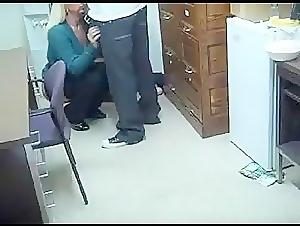 Real hidden cam showed