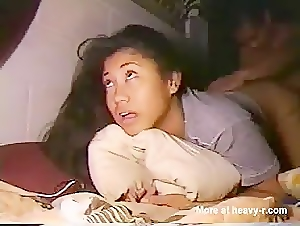 Asian girl lost anal virginity