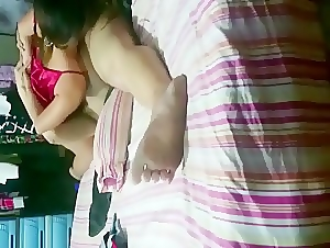 Horny asian wife caught cheating on hidden cam
