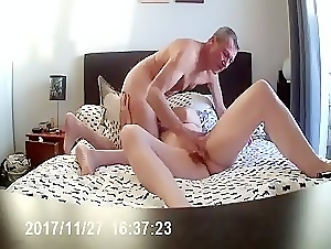 Adult couple enjoying each other tenderness