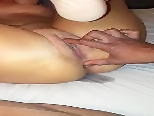Ebony ass gets penetrated by a BBC - Myxclip.com