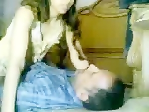 Real indian uncle and niece sex in the floor