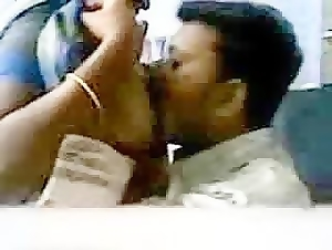 Big titted indian babe making love with her boss sex tape