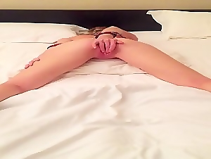 fuckdoll cuffed and cumming