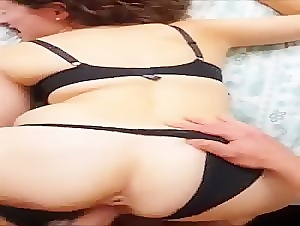 Babe from tinder gets fucked from behind