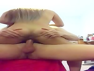 amateur video with my ex girlfriend fucking me on my office chair